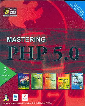 Mastering PHP 5.0 (5 Disc Value Pack) Includes: FrontPage 2003 + Dreamweaver MX 2004