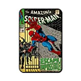 Marvel 'Spider - Man - Escape Impossible' Rectangle MDF Fridge Magnet (8 cm x 12 cm)
