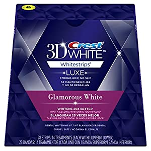 Crest 3D White Whitestrips with Advanced Seal Technology, 14 Count (Packaging May Vary)