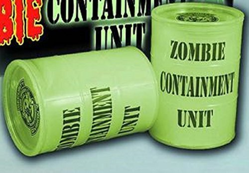 Zombies in Glow Slime Mini Goo Drum with Plastic Zombie by Emce Toys; Previews Exclusive; Zombies
