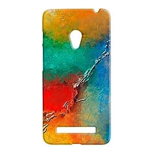 100 Degree Celsius Back Cover for Asus Zenfone 5 (Designer Printed Multicolor)