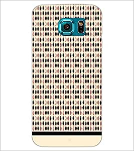 PrintDhaba Pattern D-1565 Back Case Cover for SAMSUNG GALAXY S6 EDGE (Multi-Coloured)