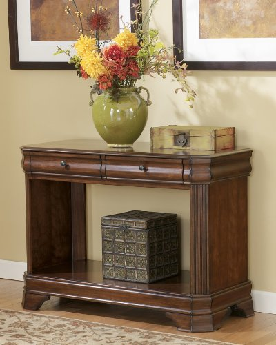Cheap Hamlyn Sofa / Console Table in Medium Brown Finish (T677-4)