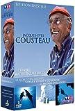 echange, troc Coffret Cousteau - 3 films, 3 chefs-d'oeuvre : Le monde du silence, Voyage au bout du monde, Le monde sans soleil