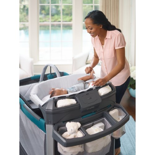 Graco Pack 'N Play Playard Smart Stations, Sapphire