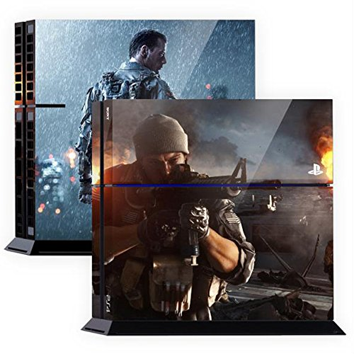 Premium-Skin-Decals-Stickers-For-PlayStation4-Game-Console-PS4-Skin-Korea-Made-POPSKIN-Battlefield-01