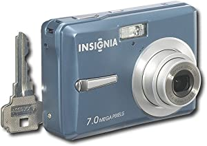 Insignia NS-DSC7B09 7MP Digital Camera BLUE