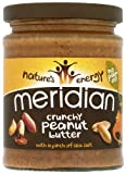 Meridian Natutal Crunchy Peanut Butter - No Added Sugar 280 g (Pack of 6)
