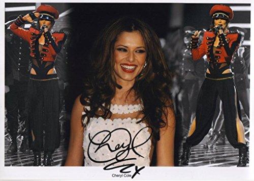 Signed Photo Cheryl Cole-Poster con autografo, formato A4
