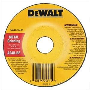 "Dewalt - Type 27 Depressed Center Wheels General Purpose|9"" X 1/4"" X 5/8""-11 Zirconia Abrasive: 115-Dw8833 - 9"" x 1/4"" x 5/8""-11 xp grinding wheel [Set of 10]"