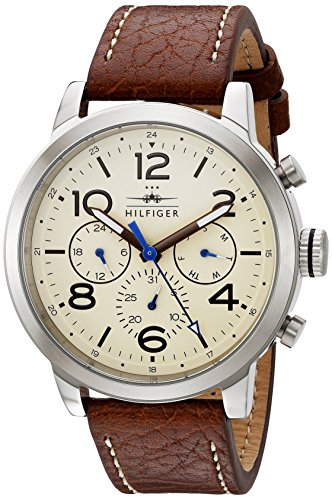 Tommy-Hilfiger-Mens-1791230-Jake-Analog-Display-Japanese-Quartz-Brown-Watch