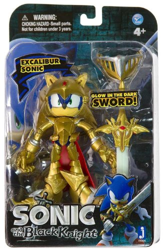 "Jazwares Sonic and The Black Knight Excalibur 4"" Action Figure"