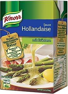 Knorr Sauce Hollandaise mit Kräutern, 4er Pack (4 x 250 ml)