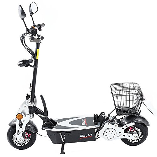 original mach1 elektro e scooter 1000w 48v motor mit strassenzulassung und turbo economy. Black Bedroom Furniture Sets. Home Design Ideas