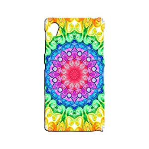 BLUEDIO Designer 3D Printed Back case cover for Sony Xperia Z1 - G4185