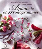 echange, troc Van de Velde Malbran - Alphabets et monogrammes