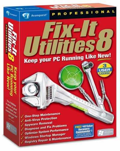 Fix-It Utilities 8 Professional [OLD VERSION]