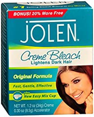 Jolen Creme Bleach, Regular, 1.2 Ounce