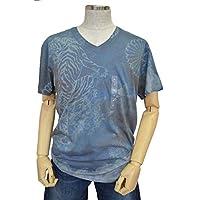 (ゲス)GUESS 半袖Tシャツ GREY BURLINGTON XL 【並行輸入品】