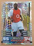 MATCH ATTAX 2014 2015 football card Arsenal SOL CAMPBELL Record Breaker