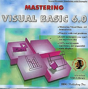 Mastering Visual Basic 6 (PC CD Jewel Case)