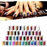 Five Season Newest 16 Colors Nail Art Transfer Foil Nail Tip Decoration