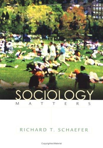 Sociology Matters (NAI)