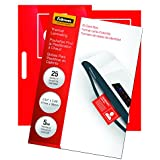 "Fellowes Laminating Pouches, Thermal, 3 7/8""(H) x 2 5/8""(W) Size, 5 Mil, 25 Pack (52007)"