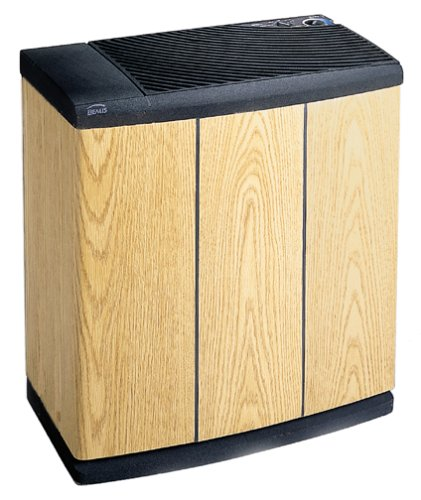 Essick Air H12-300 3-Speed Evaporative Console Humidifier, Light Oak