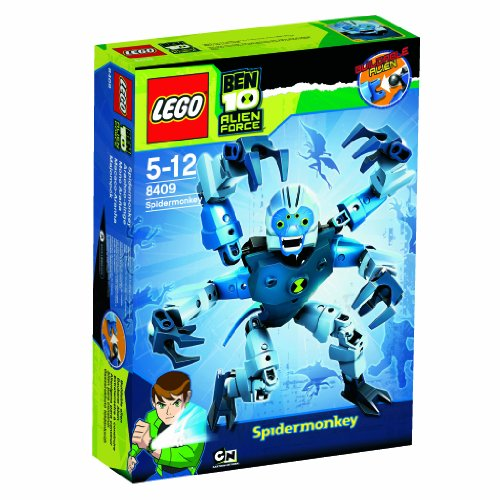 Lego Ben 10 Alien Force 8409 Spidermonkey Picture