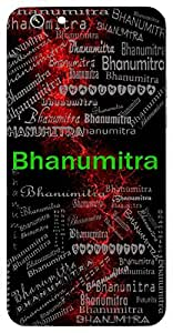 Bhanumitra (Friend Of Sun / Planet Mercury) Name & Sign Printed All over customize & Personalized!! Protective back cover for your Smart Phone : Samsung Galaxy S5 / G900I