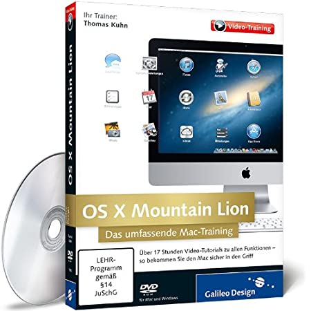 OS X Mountain Lion - Das umfassende Mac-Training