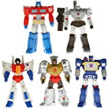 Transformers SDCC 2013 Exclusive Titan Guardian 5 Pack - Megatron, Grimlock, Optimus, Starscream & Soundwave