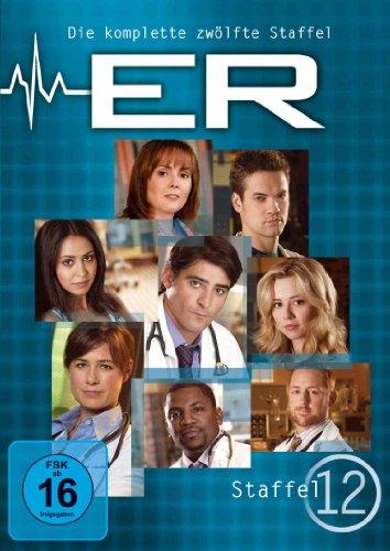 ER - Emergency Room, Staffel 12 [6 DVDs]