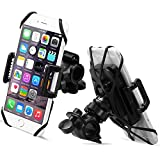 Bike Mount, Sahara Sailor Universal 360 Degree Rotating Bike Bicycle Phone Holder Cradle Clamp For IPhone 5/5S/6/6S Plus, Samsung Galaxy S7/S7 Edge/S6 Edge, All Devices 4 - 5.7