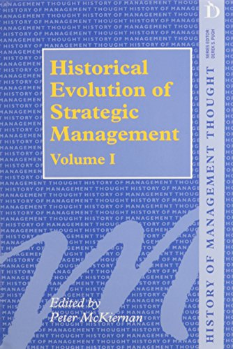 history of strategic management The strategic management society and wiley are seeking nominations for one co-editor position at the strategic entrepreneurship journal.