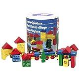 """Heros 27181 - Spielbox mit 32 bunten Holzbausteinenvon """"Heros"""""""