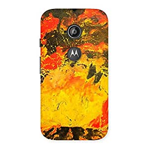 Delighted Modern Art Paint Print Back Case Cover for Moto E 2nd Gen
