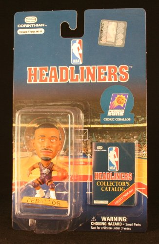 CEDRIC CEBALLOS / PHOENIX SUNS * 3 INCH * 1997 NBA Headliners Basketball Collector Figure
