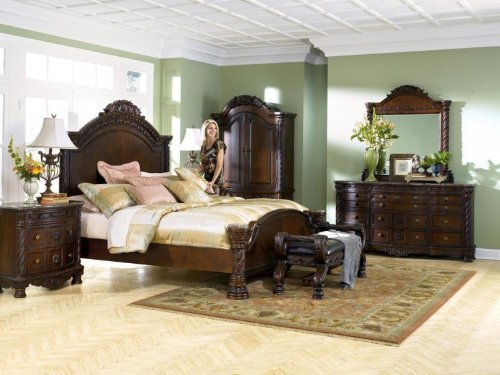 North Shore King Bedroom Set by Ashley Furniture