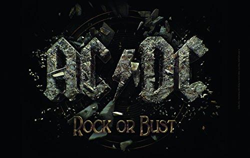 AC/DC bfbac3petit-déjeuner, plastique, noir