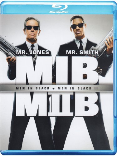 Men in black + Men in black II [Blu-ray] [IT Import]