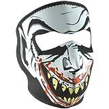 ZANheadgear Vampire Glow in the Neoprene Face Mask (Black/Red)