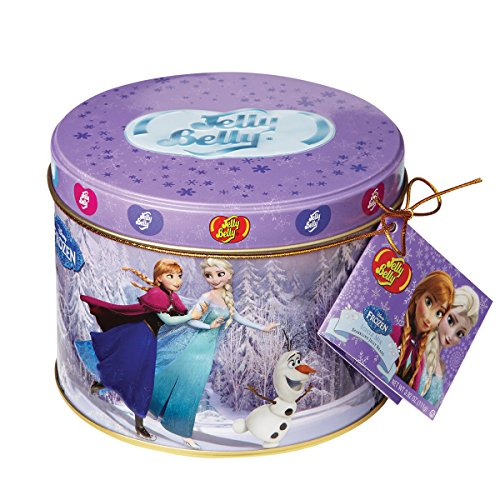 Disneys Frozen 3.92 Oz Gift Tin By Jelly Belly (Jelly Belly Bean Tin compare prices)