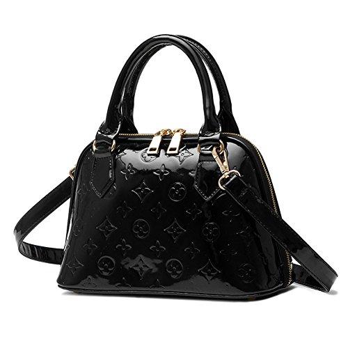 guanta-spring-new-handbag-shoulder-bag-high-grade-pu-packet-for-women-black