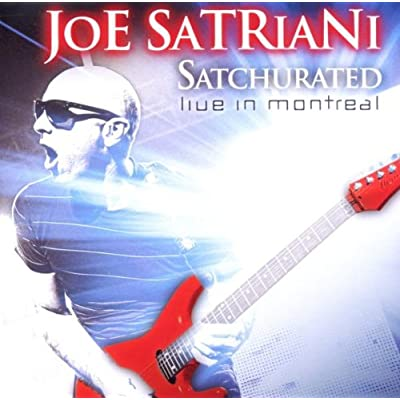 Joe Satriani - Satchurated - Live In Montreal CD Review