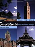 img - for Ouvertures: Cours Intermediaire de Francais book / textbook / text book