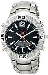 U.S. Polo Assn. Sport Men's US8230 Silver-Tone Watch