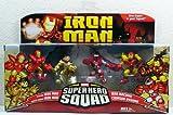 Iron Man Movie Toy Super Hero Squad Battle Pack Crimson Dynamo Attacks by Hasbro