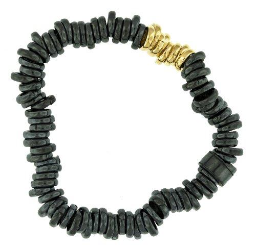 Silver Two-Tone Sweetie Bracelet 18cm